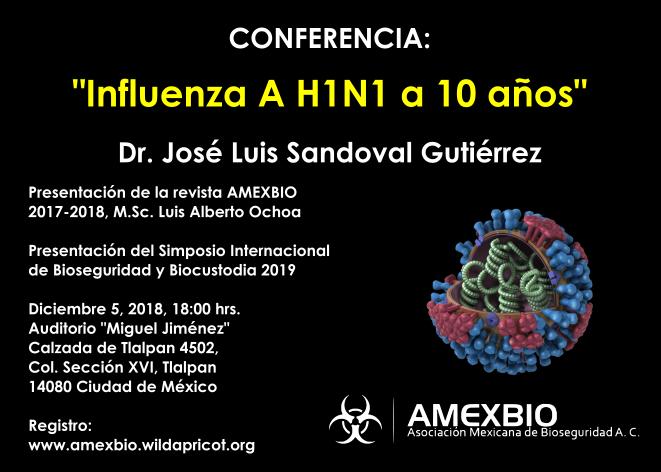 Evento académico AMEXBIO 2018 (Sin costo)