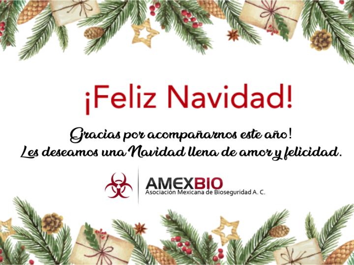 AMEXBIO les desea una Feliz Navidad!