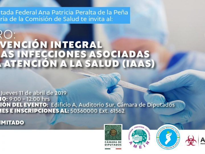 FORO: Prevención integral de infecciones asociadas a la atención a la salud