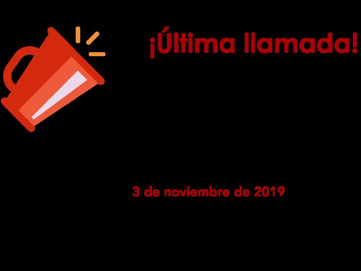 Convocatoria revista AMEXBIO 2019