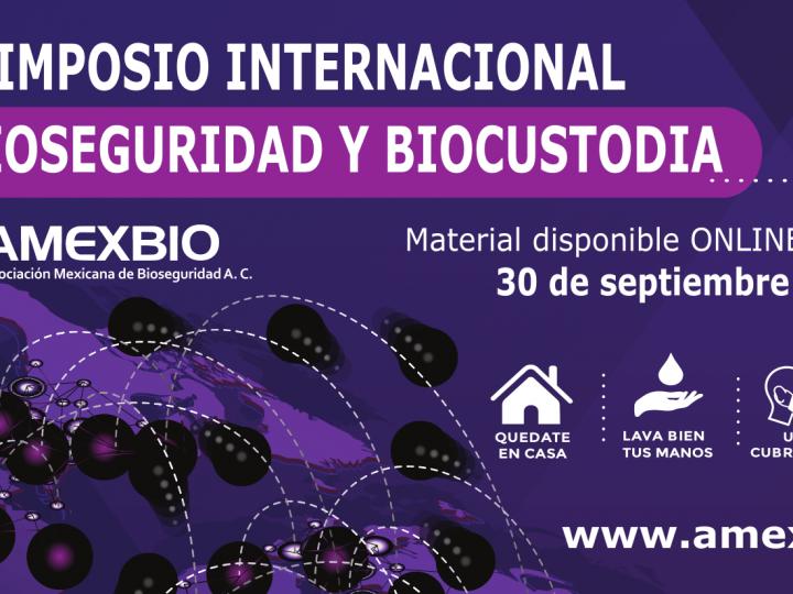 VIDEO: Bienvenidos al XII Simposio Internacional de Bioseguridad y Biocustodia 2020